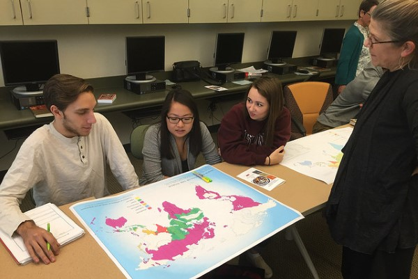 students map spatial across curriculum