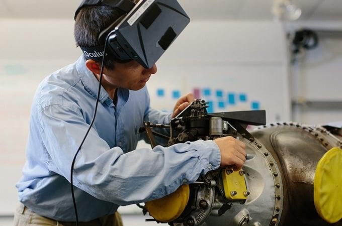 Ziyou Xiong working with UTC's technology.