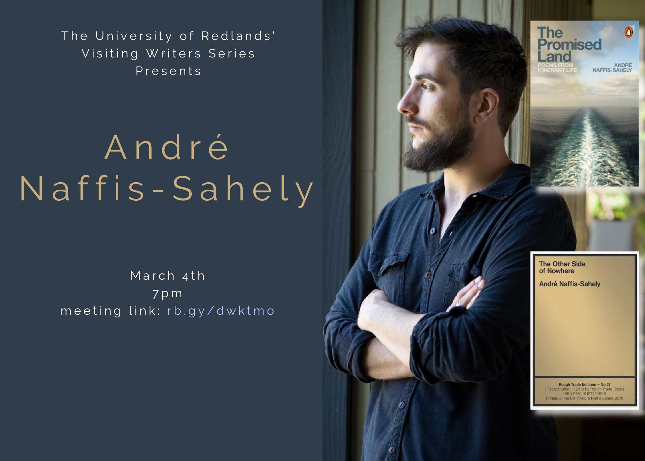Andre Naffis Sahely Poster