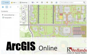 Logging In To ArcGIS Online   University of Redlands
