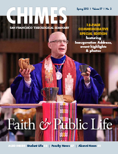 Chimes spring 2012 cover