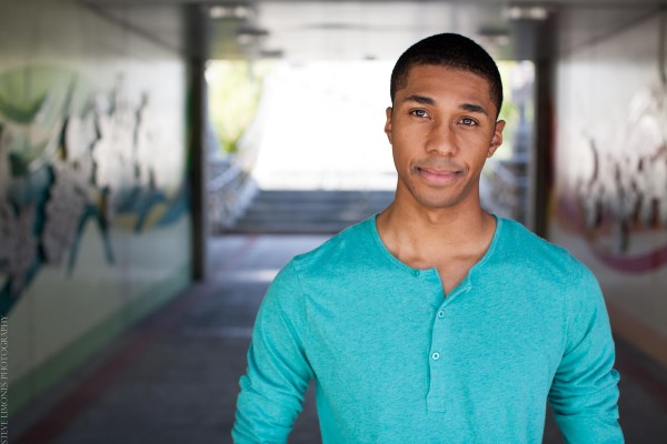 University alumnus Nathan Riley makes his living in New York singing and acting on Broadway.